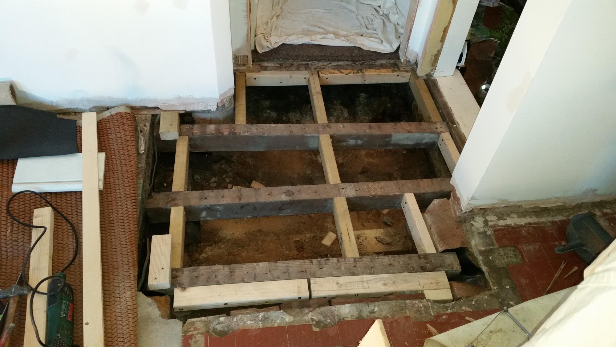 Floor repairs in Ilkeston, Derbyshire
